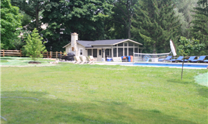 Geneva cabin / pool house after