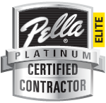 We are a Pella Certified Contractor